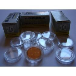 Kapsle na monety (10sztuk) 16,5 mm