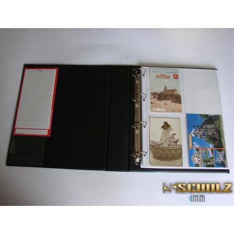 Klaser na pocztówki A4 (duża pojemność)