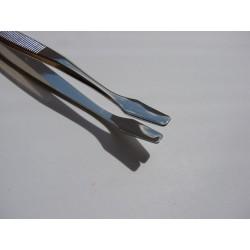 Pinceta Filatelistyczna 12 cm (łopatka kwadratowa zakrzywiona)