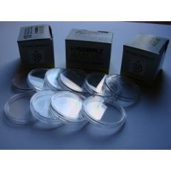 Kapsle na monety (10 sztuk) 38,0 mm