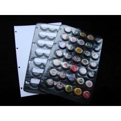 Strona do albumu na kapsle (piwo) 35 szt + PRZEKŁADKA