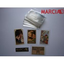 Kieszonki Ochronne 1 kg na znaczki obrazki święte itp. 76 x 120