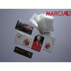 Kieszonki Ochronne 1 kg na karty,wizytówki 58 x 90